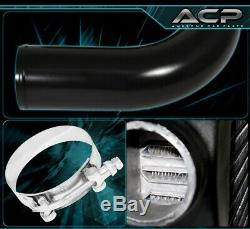 Fin Tube Fmic Front Mount Turbo Intercooler + Aluminum Piping Kit+Coupler+Clamps