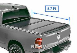 Fit 2015-2020 Ford F150 6.5FT Bed Hard Tri-Fold Tonneau Cover