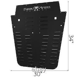 Fits Jeep Wrangler JK 2013-2017 Hood Louver panel set Durable Front OE Style