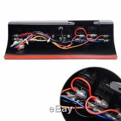 Fits Jeep Wrangler JK &JKU 52 LED Light Bar + Overhead 6-Switch Pod Panel