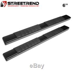 For 05-18 Tacoma Access/Extended 6 OE Aluminum Black Side Step Running Boards