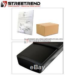 For 07-18 Silverado/Sierra Extended 6 OE Aluminum Blk Side Step Running Boards