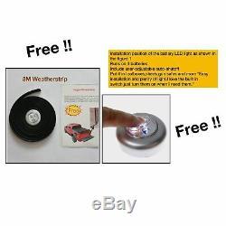 For 09-18 Ram 1500 2500 3500 19 Classic 6.5'/76.3 Tonneau Cover Hard Tri-Fold