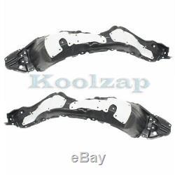 For 15-17 Prius C Type-2 Front Splash Shield Inner Fender Liner Panel SET PAIR