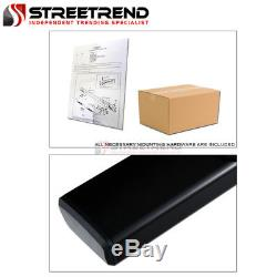 For 15-18 F150/17+ F250 Supercrew 6 OE Aluminum Black Side Step Running Boards