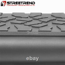 For 2007-2019 Tundra Crewmax Cab 5 Matte Blk Aluminum Side Step Running Boards