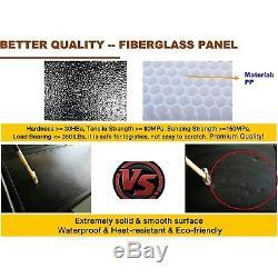 For 2007-2020 Tundra 5.5ft Bed Tonneau Cover Aluminum Hard Tri Fold Waterproof