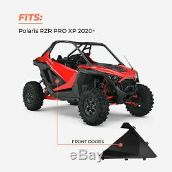 For 2020 Polaris RZR PRO XP Aluminum Lower Doors Inserts Panels 2Doors