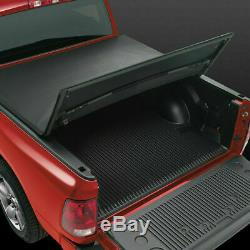 For 5FT Nissan Frontier King Cab Soft Tri-Fold Tonneau Cargo Cover Rear Pickup
