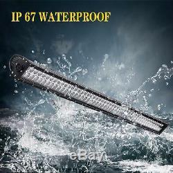 For Jeep Wrangler 52 LED Light Bar, For Jeep 6 Rocker Switch Cotrol Bracket JK