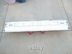 Ford F150 F250 F350 Pickup Truck Rear Tailgate Finish Panel Trim Red 87-96