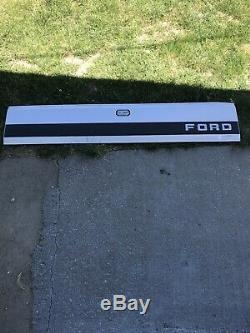 Ford F150 F250 F350 Truck Rear Tailgate Finish Trim Panel Molding Black 87-96
