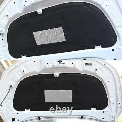 Front Hood Engine Sound Insulation Pad Panel Fits For Toyota Corolla