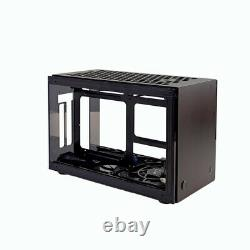 GEEEK A50S ITX Computer Case PC Aluminum Acrylic Side Panels SFX Cooling Case