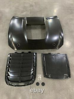 GT500 style aluminum hood for 2015-2017 ford mustang