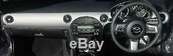 Genuine Mazda MX-5 Dashboard Panel Kit Brushed Aluminium 2005-2008