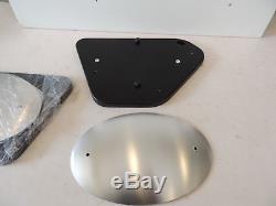 Genuine Moto Guzzi V7 Scrambler Side Panel Kit Aluminium Black Stone Special