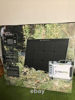 Goal Zero Boulder 30 Solar Panel 30 Watt Tempered Glass Aluminum Frame 32201