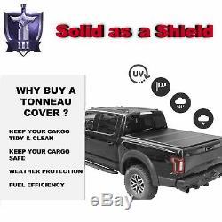 Hard Tri-Fold Tonneau Cover For 14-19 Silverado Sierra 1500 2500 3500 6.5FT Bed