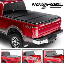 Hard Tri-Fold Tonneau Cover For 2006-2014 Lincoln Mark LT 5.5FT Bed Pickup