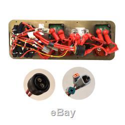 Hydra Sport Boat Battery Breaker Panel HS14222244 30 CC Black Aluminum