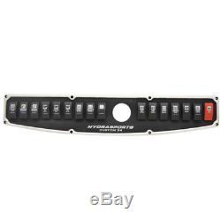 Hydrasports Boat Helm Switch Panel HS14223540 Custom 34 Aluminum