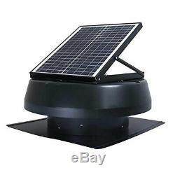 ILIVING ILG8SF301 14 Inch Solar Panel Powered Exhaust Fan