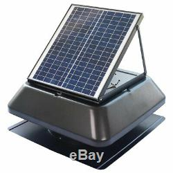 ILIVING ILG8SF301 14 Inch Solar Panel Powered Exhaust Fan (For Parts)