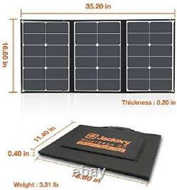 Jackery SolarSaga 60W Solar Panel for Explorer 160/240/500 as Portable Solar Gen