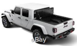 Jeep Gladiator Tonneau Cover Armis Hard Folding Panel Style Line-x Coated