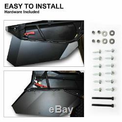 KIWI MASTER Insert Panels Half Lower Door for Can-Am X3 Maverick Turbo 4D 17-19