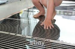 Laminate Panels Floor Heater Far Infrared Heating Mat 140W Eco Friendly System