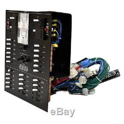 Larson Black Aluminum 240vac 50hz European Electrical Boat Breaker Switch Panel