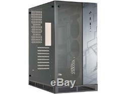 Lian Li ROG Tempered Glass Front & Side Panel ROG Computer Case Black