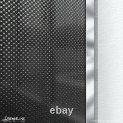 Linea Ombre 34 in. W x 72 in. H Single Panel Frameless Shower Screen