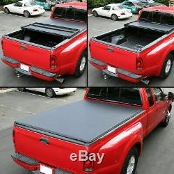 Lock Tonneau Soft Tri-Fold Cover For Nissan Frontier Cab Cargo Panel 60'' Pickup