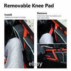 Lower Door Panels + Side Door Bag with Knee Pad For Can Am Maverick X3 Max 2017-21