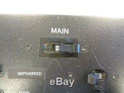 Main Breaker Panel Black Aluminum 10 X 6 1/2 Marine Boat