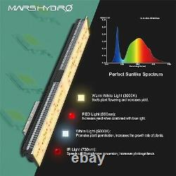 Mars Hydro SP 150 LED Grow Light Full Spectrum Panel+27x27x63Grow Tent Indoor