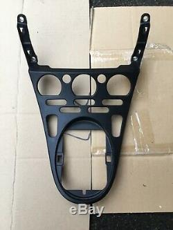 Maserati 4200/spyder Black Center Console Control Aluminium Panel
