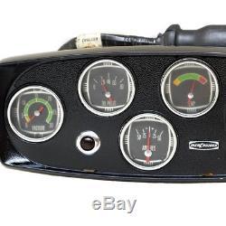 Mercury Mercruiser 63178A1-A4 Black Aluminum Boat Classic Gauge Panel