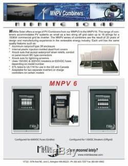 MidNite Solar MNPV6 Combiner NEMA 3R Aluminum