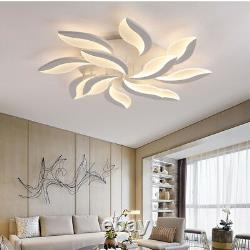 Modern Bedroom LED Ceiling Light Round Dining Living Room Mount Surface Fixtures