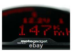 Motogadget Motoscope Pro Motorcycle Digital Speedo / Instrument Panel