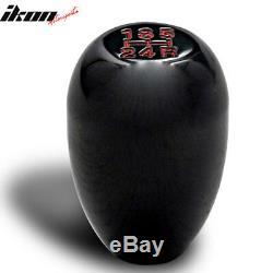 New Universal 5 Speed Black Shift Knob Stick Shifter Manual JDM Aluminum MT Gear