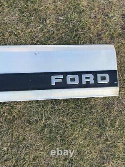 OEM 1987-1996 Ford F-150 F-250 F-350 Tailgate Trim Panel Black Read Description