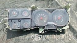 OEM 73-89 Chevy/GMC Truck Suburban Blazer Jimmy Gauge Cluster & Clock 350 454