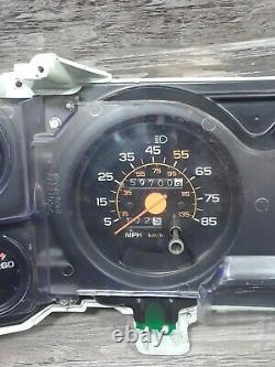 OEM 73-89 Chevy GMC Truck Suburban Blazer Jimmy Gauge Cluster & Clock 350 454