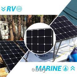 Open Box Renogy Eclipse 100W Watts Mono Solar Panel 12V PV Power Trailor Marine