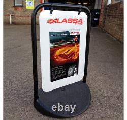 PAVEMENT SIGN Eco Swinger A-Board -Advertising Board- Poster Pocket or Panel